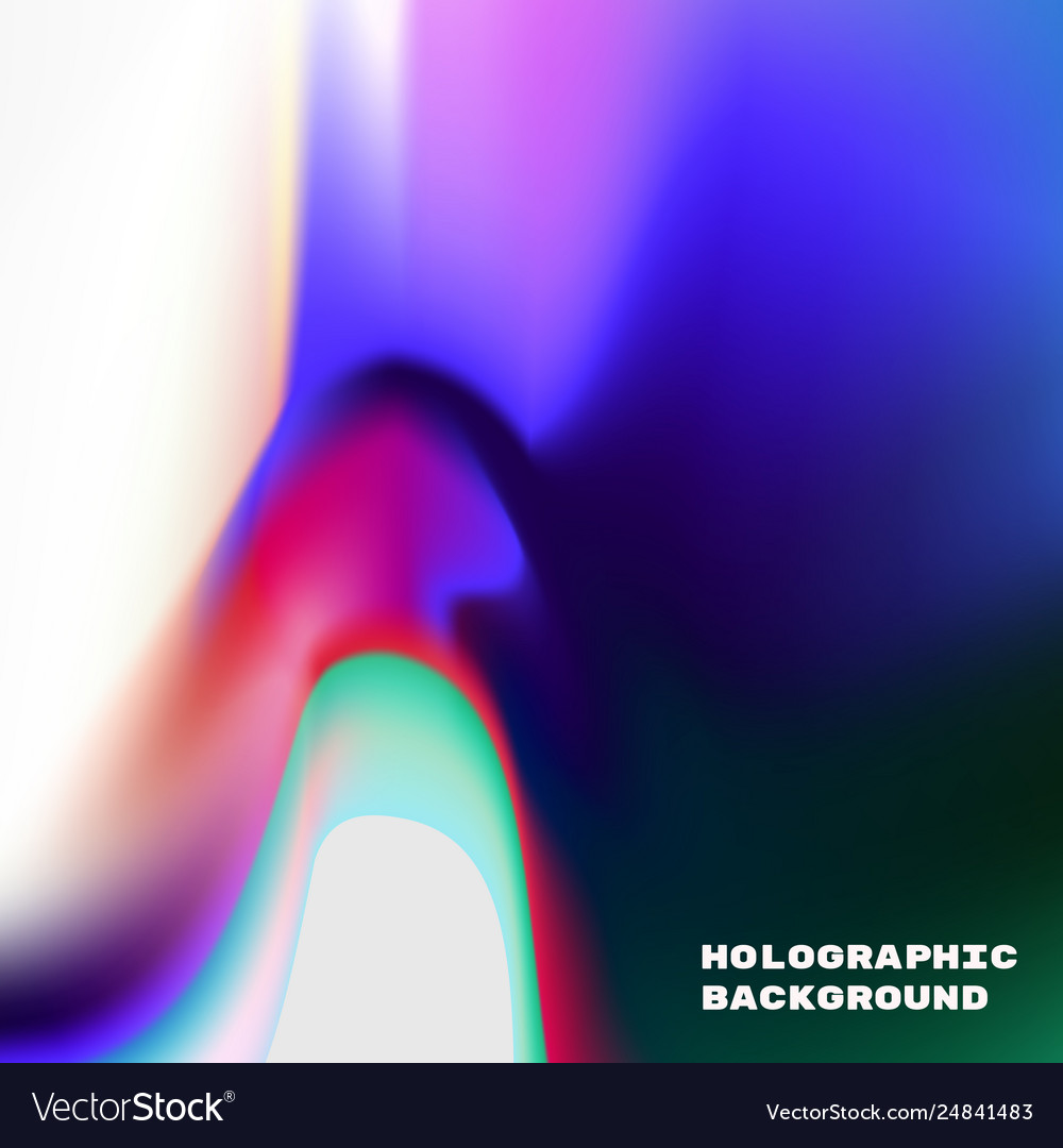Vivid gradient holographic vector