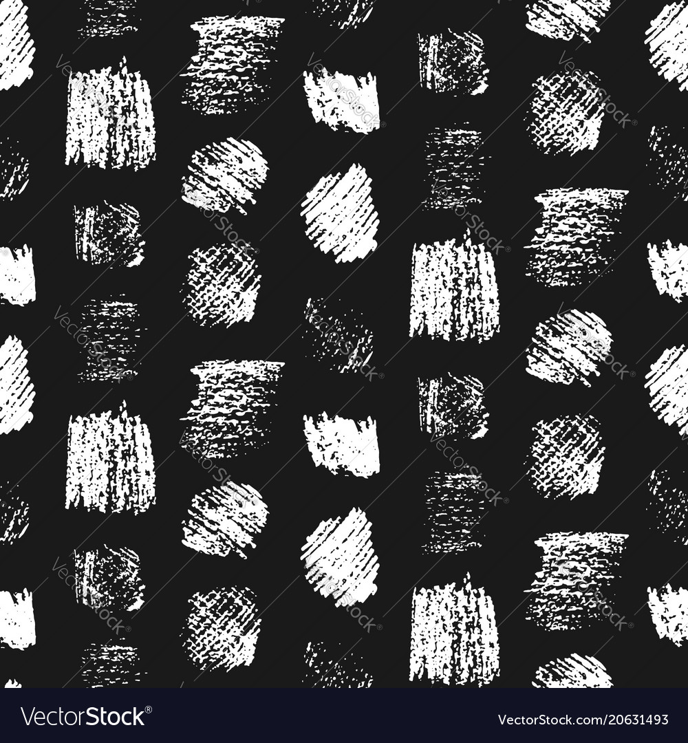 Monochrome grunge scratched squares pattern