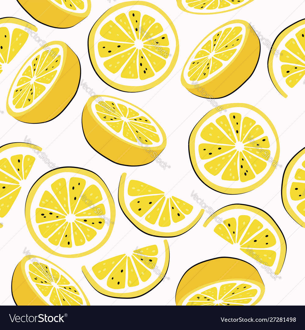 Citrus seamless background