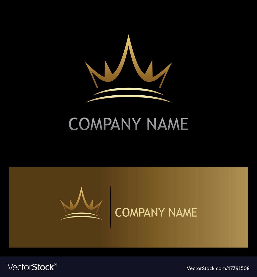 Crown gold company logo