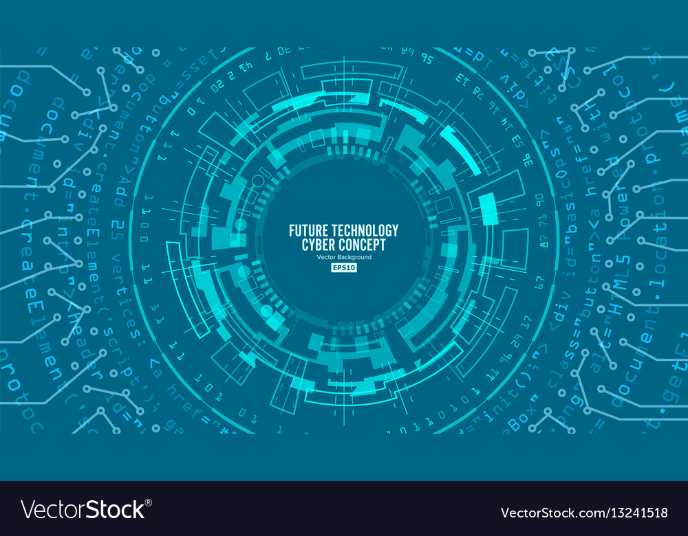 Abstract futuristic technological background