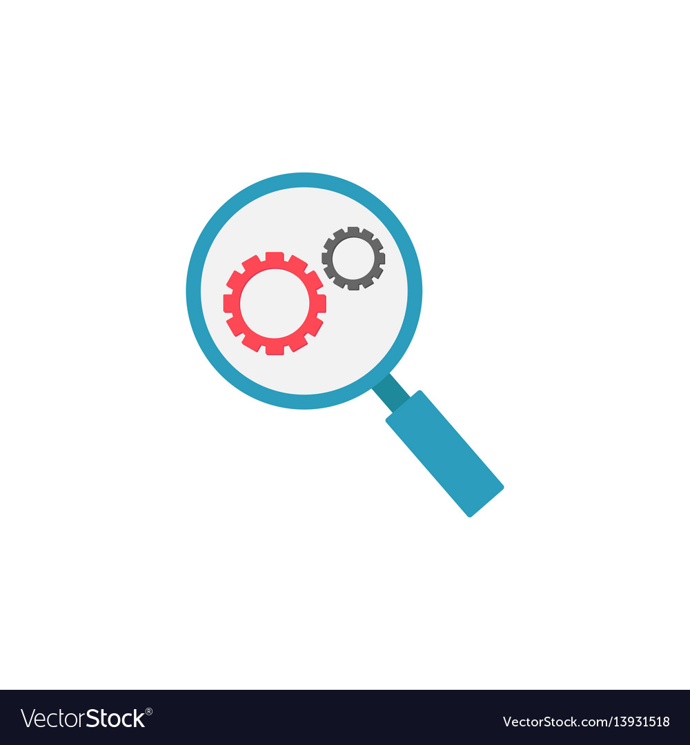 Research optimization flat icon
