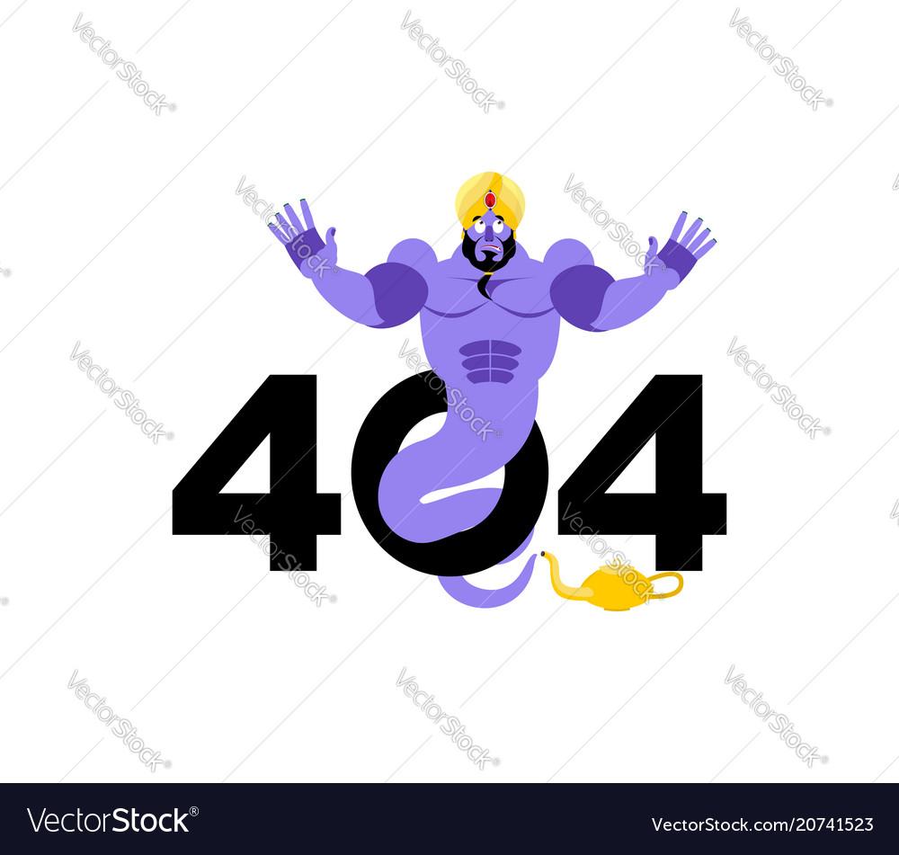 Error 404 genie surprise page not found template