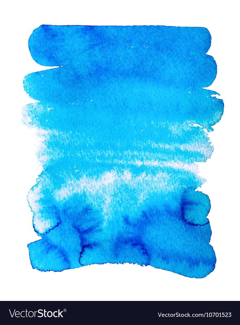 Hand drawing abstract watercolor texture vector image