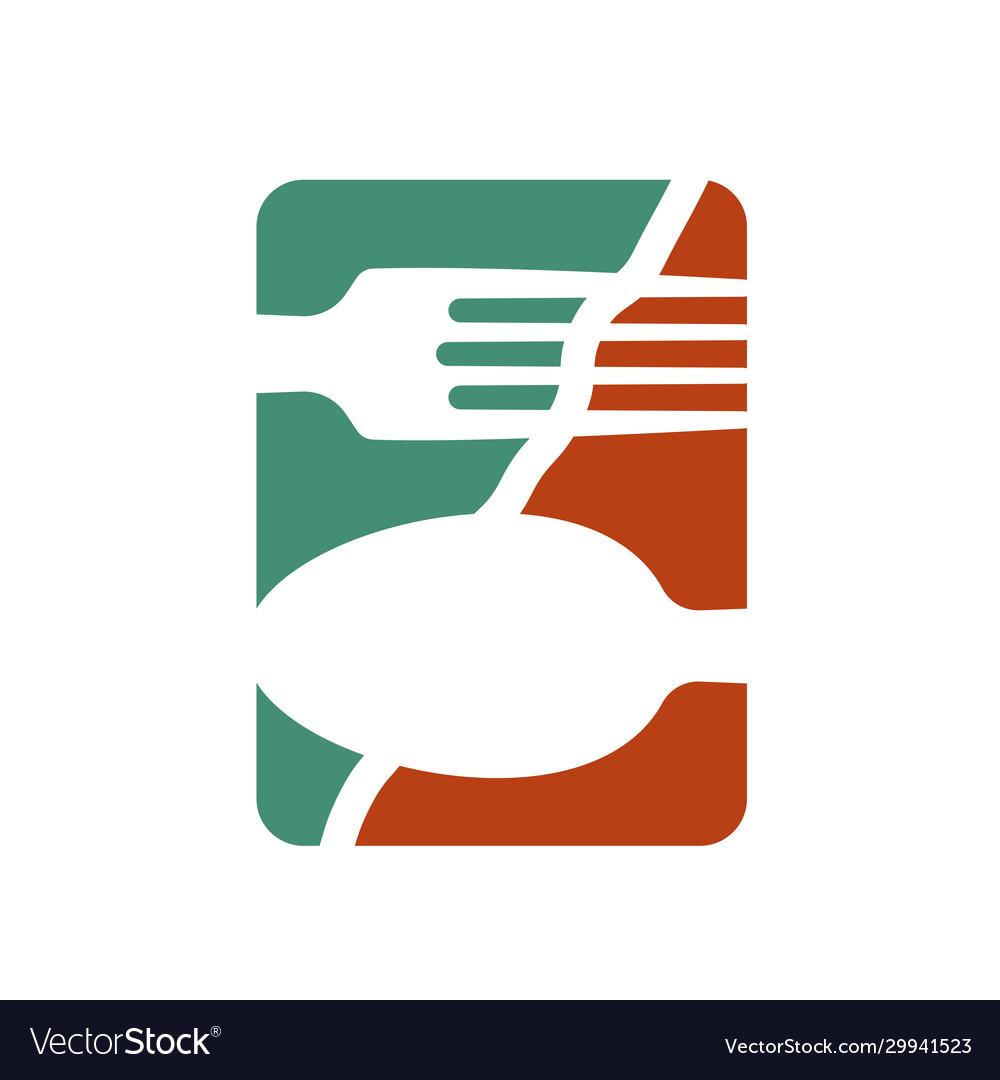 Logo or logo for a restaurant cafe or diner