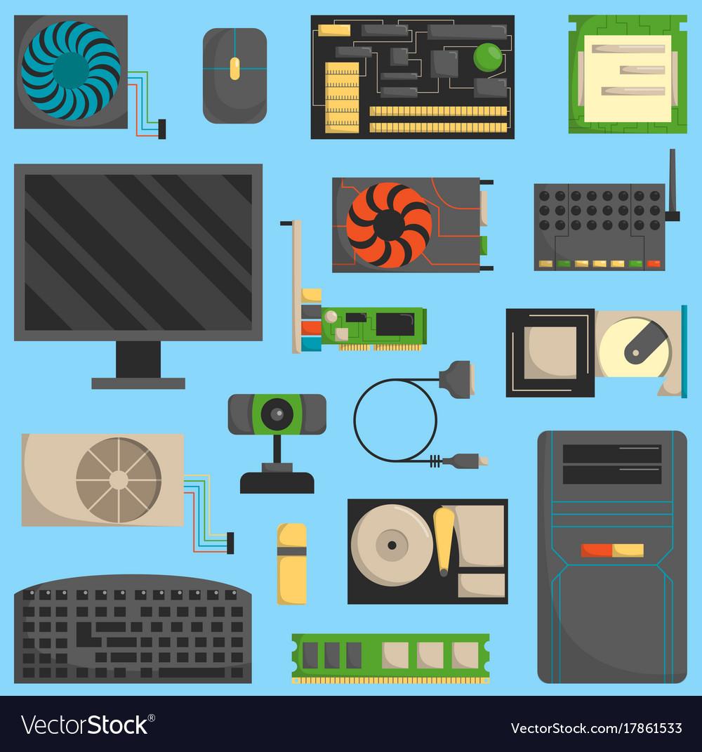 Computer symbols set