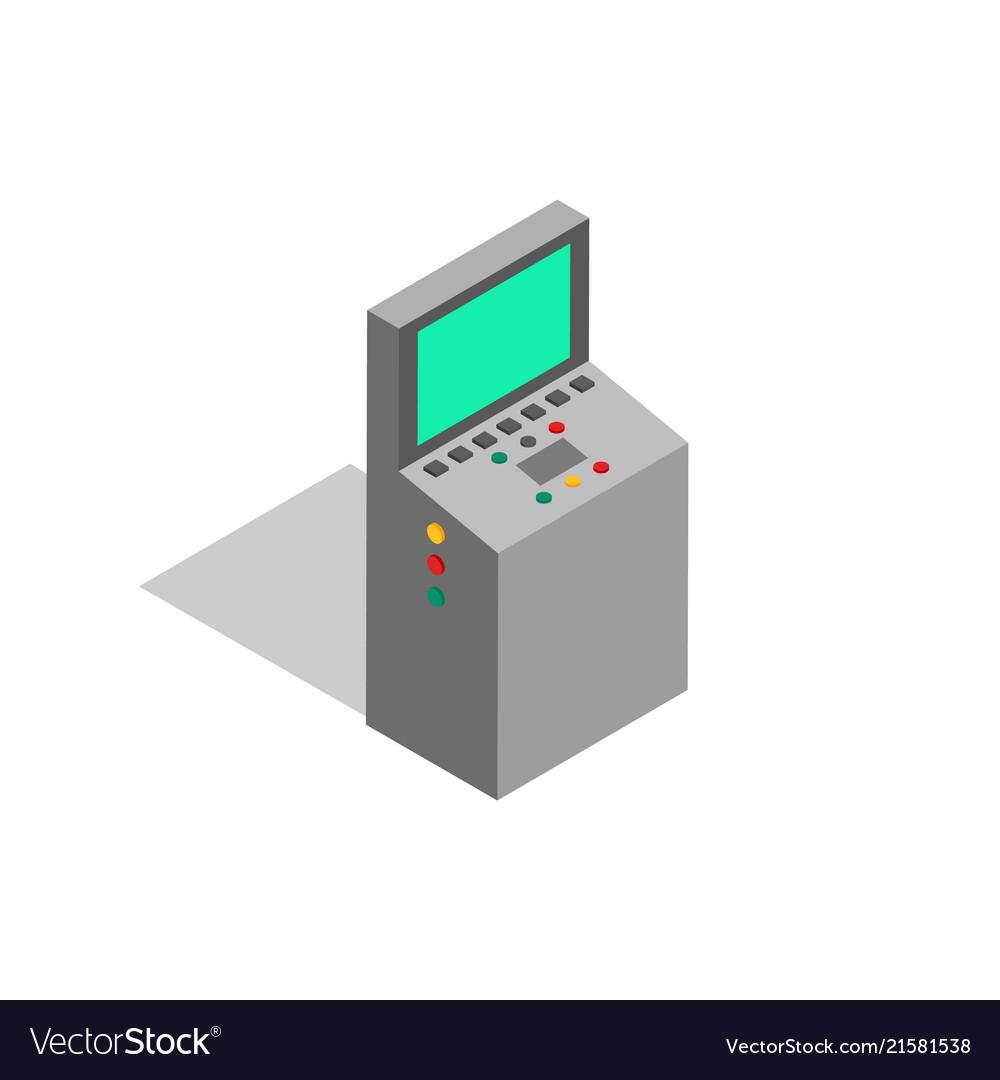 Factory screen monitoring