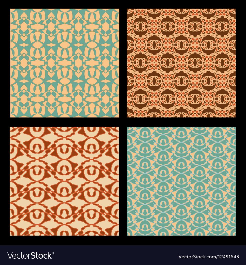 Art deco style seamless background tiles vintage
