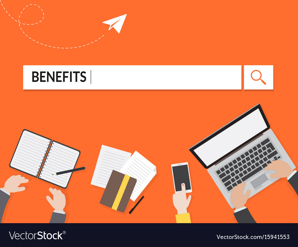 Benefits search graphic for business