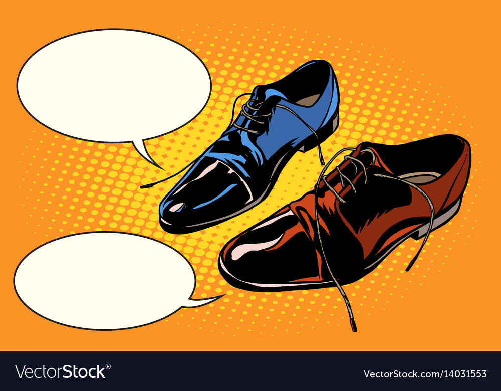 Business meeting classic shoes