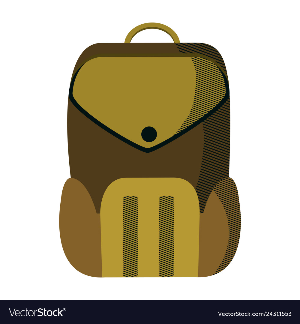 Education Backpack School Tool Design Royalty Free Vector