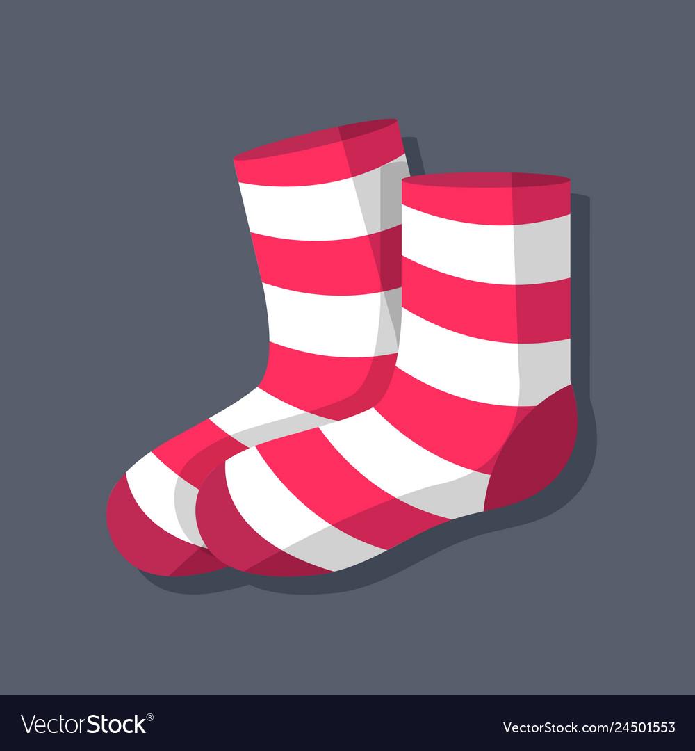 Socks symbol object flat icon