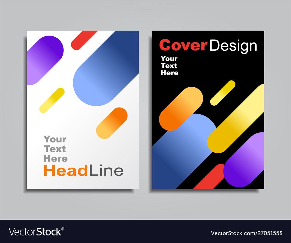Modern abstract covers pattern background