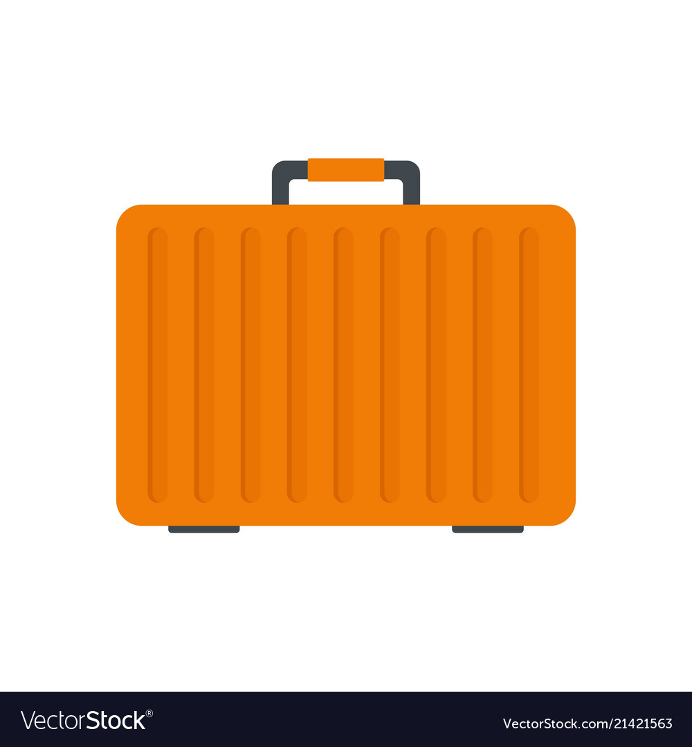 Climb case icon flat style