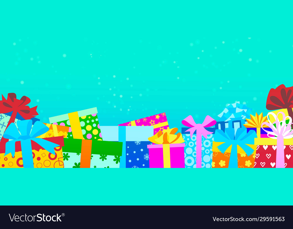 Gift boxes for holidays for christmas or birthday