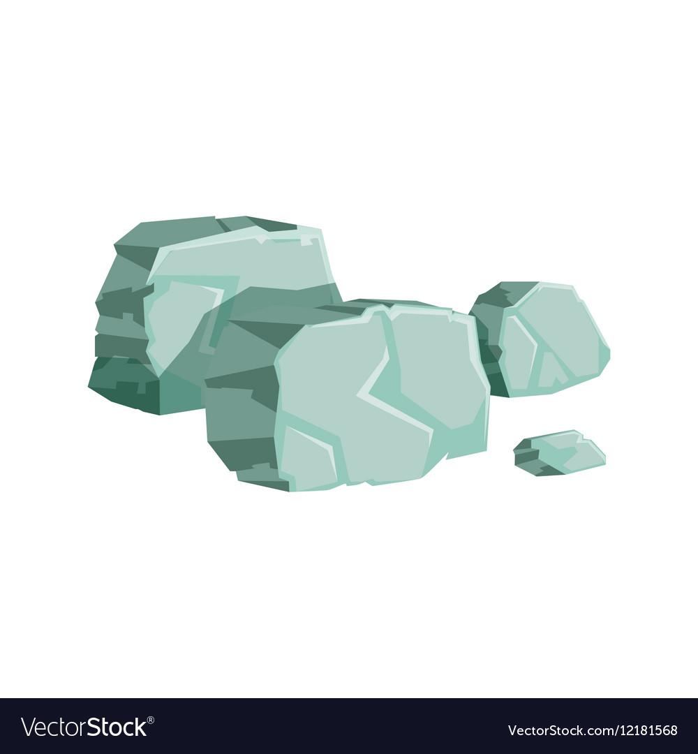 Grey Shaped Rocks Natural Landscape Design Element