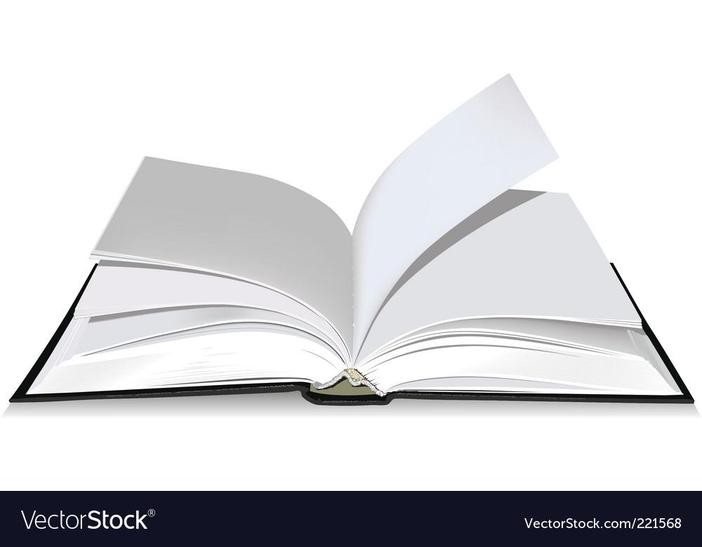 open book royalty free vector image vectorstock rh vectorstock com open book vector png open book vector art free