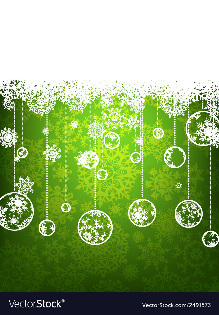 Christmas background with copyspace EPS 8