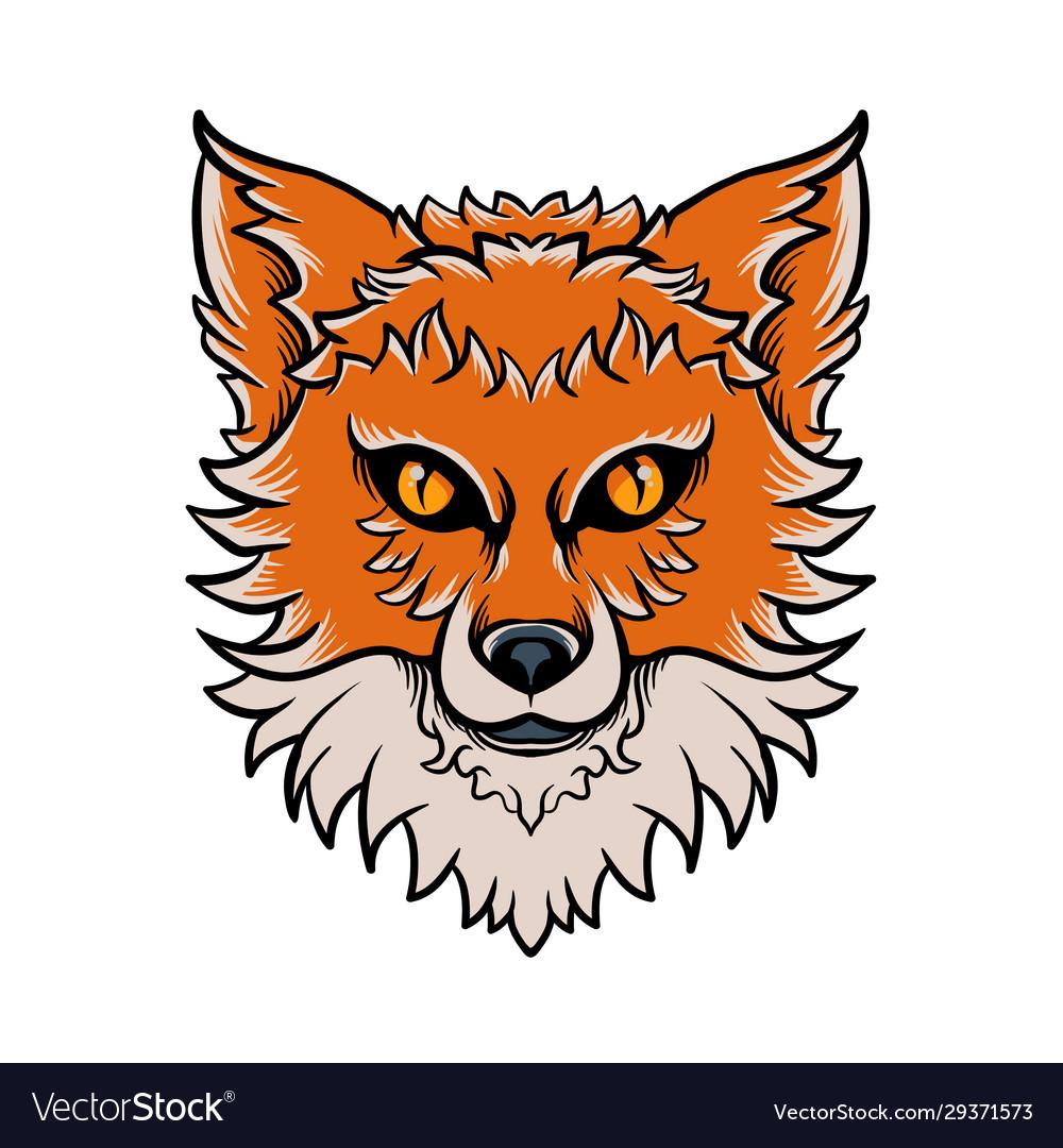 Fox head