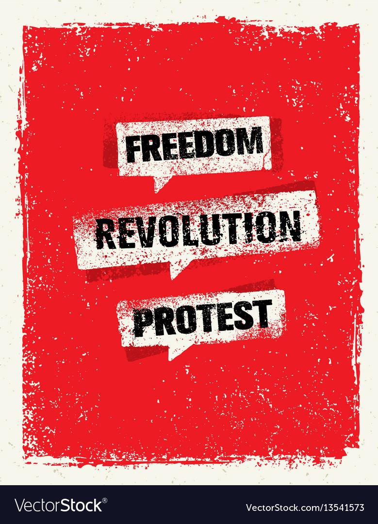 Revolution socialprotest creative grunge