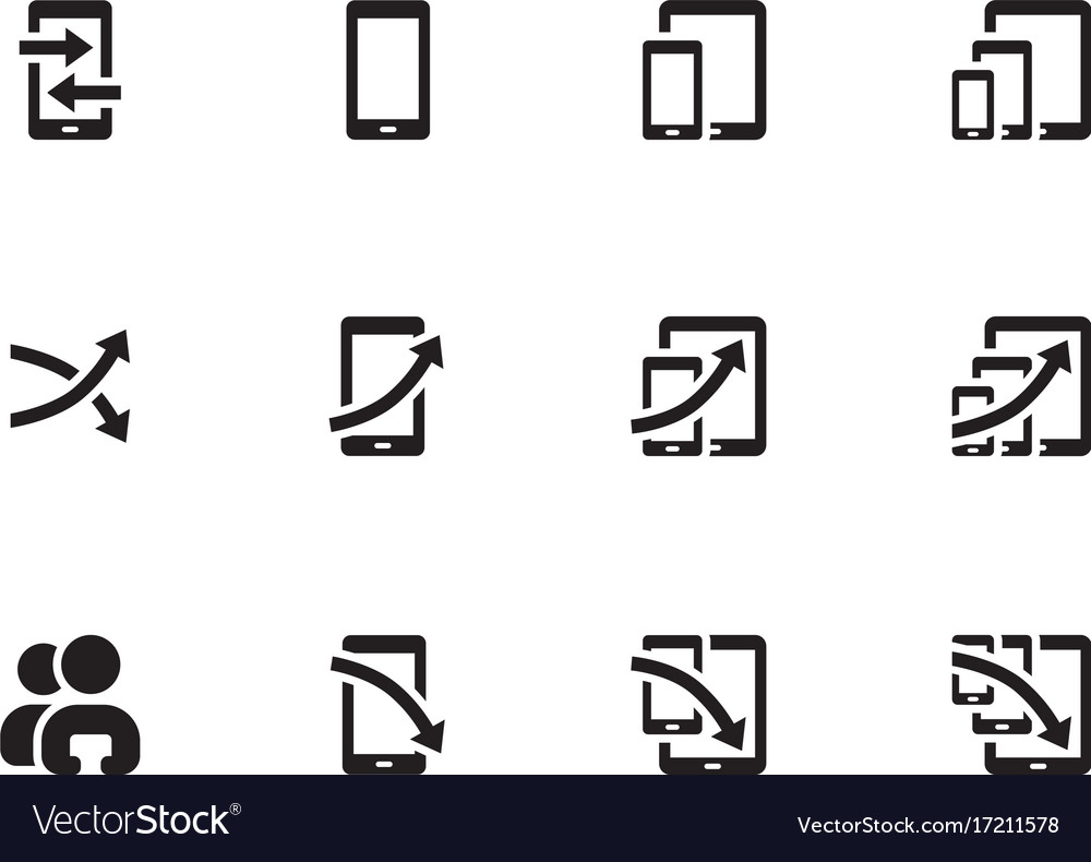 Seo analytic chart icons
