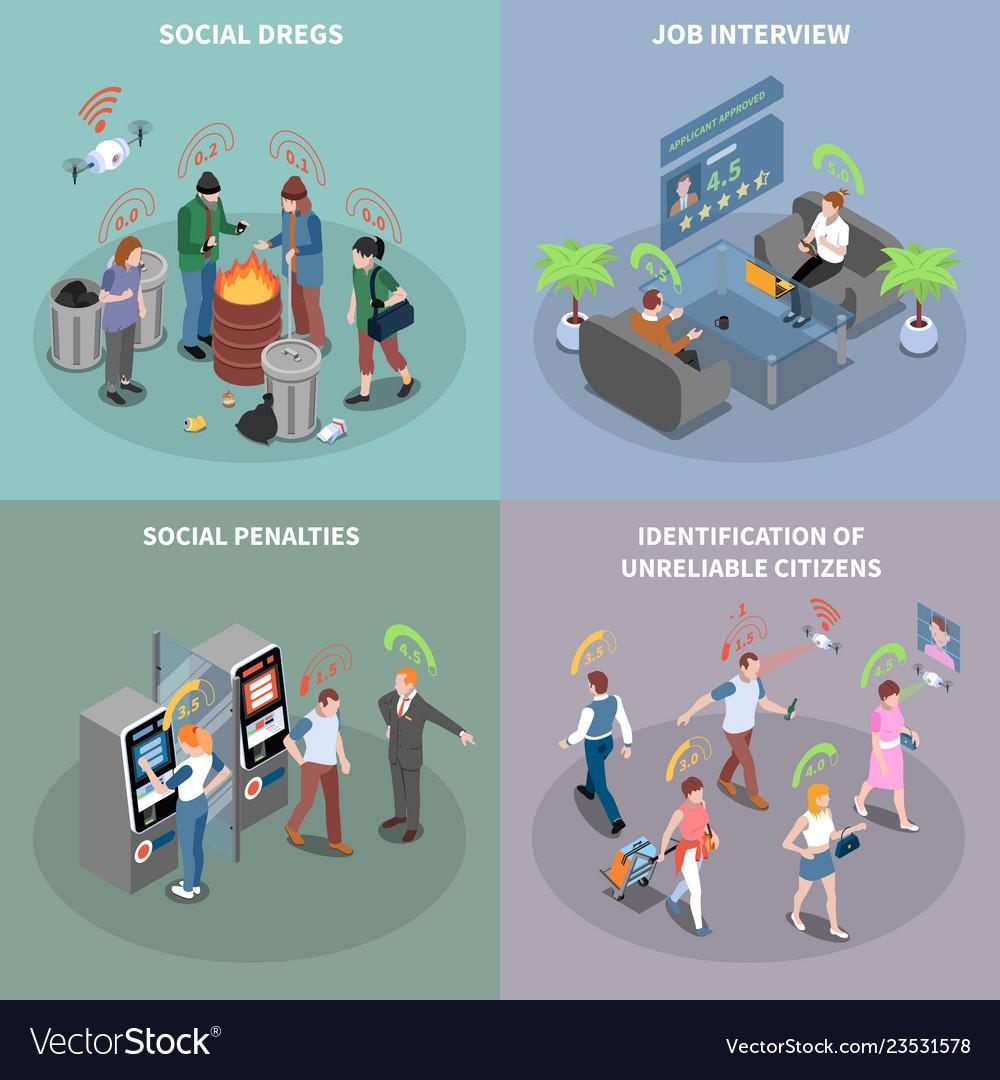 Social penalties design concept
