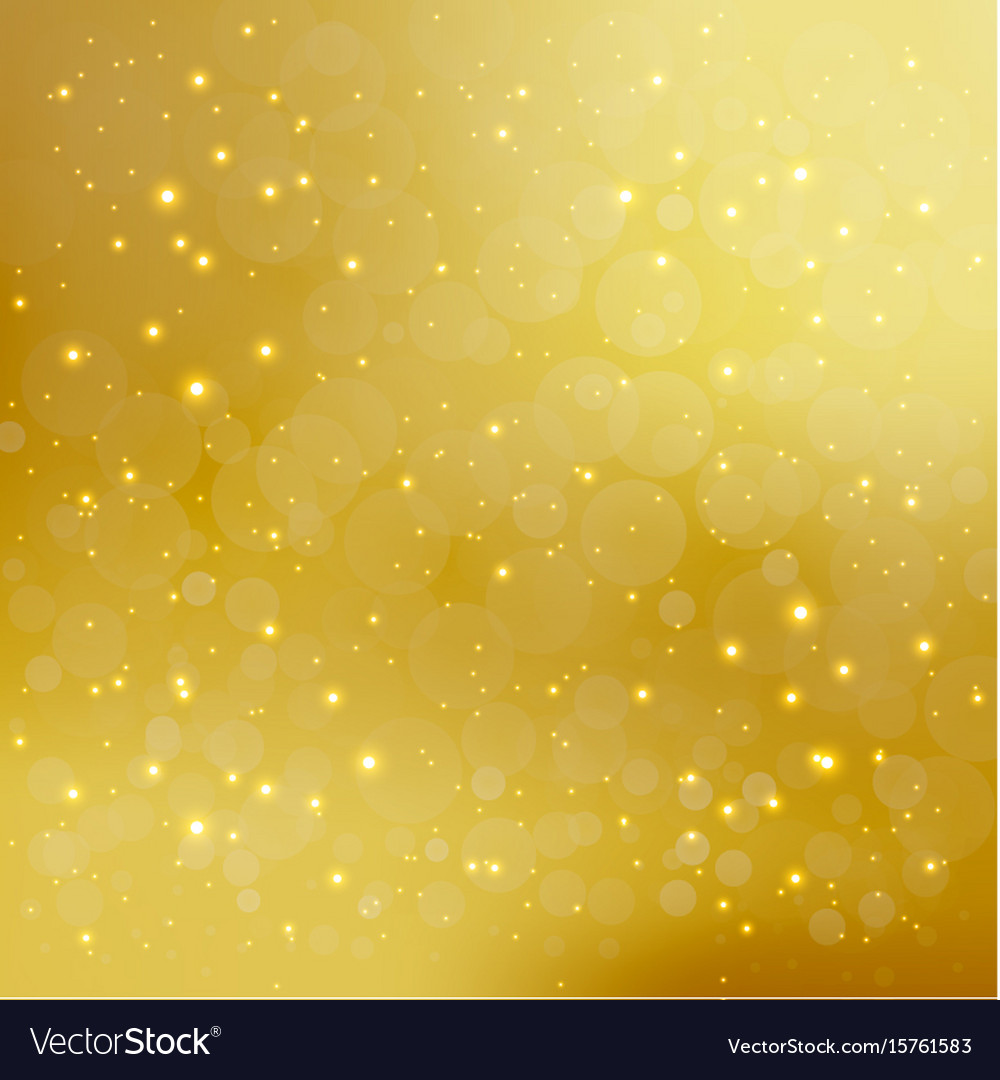 Abstract golden background with sparkling shiny