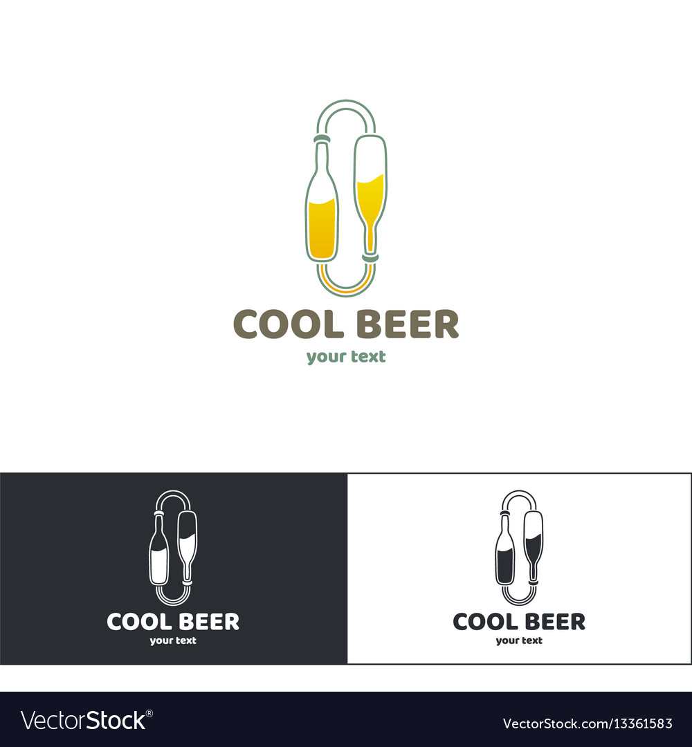 Beer logo three
