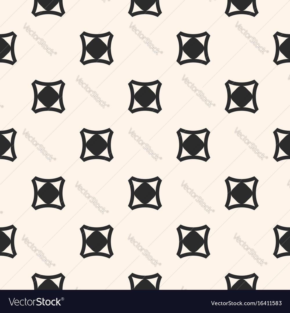 Funky style minimalist seamless pattern vector image