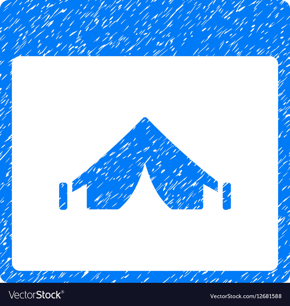 Camping Calendar Page Grainy Texture Icon