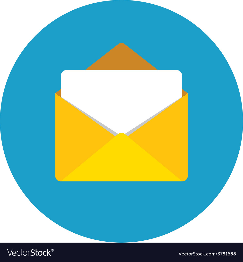 Email Icon Royalty Free Vector Image Vectorstock