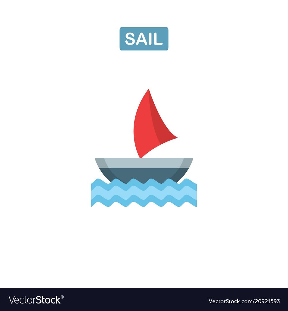 Boat icon ship logo