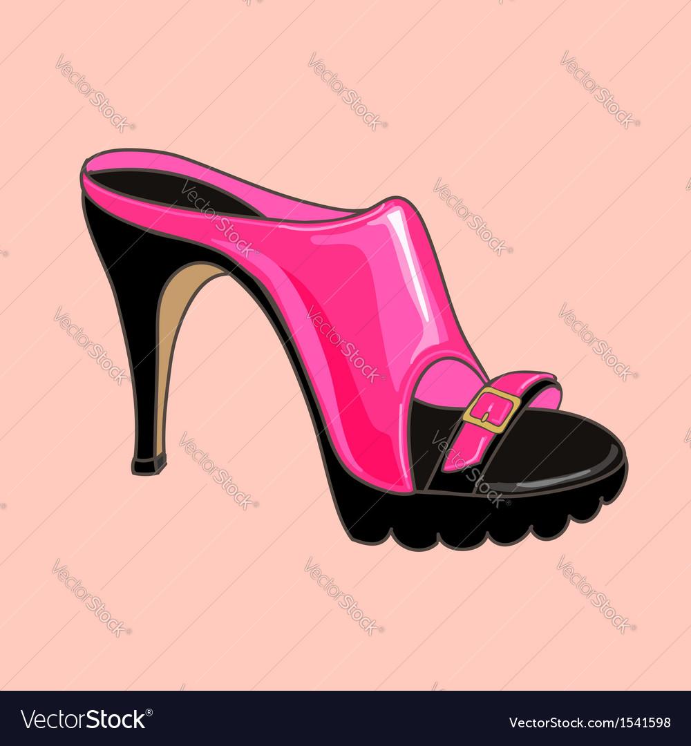 Fashion shoes pink