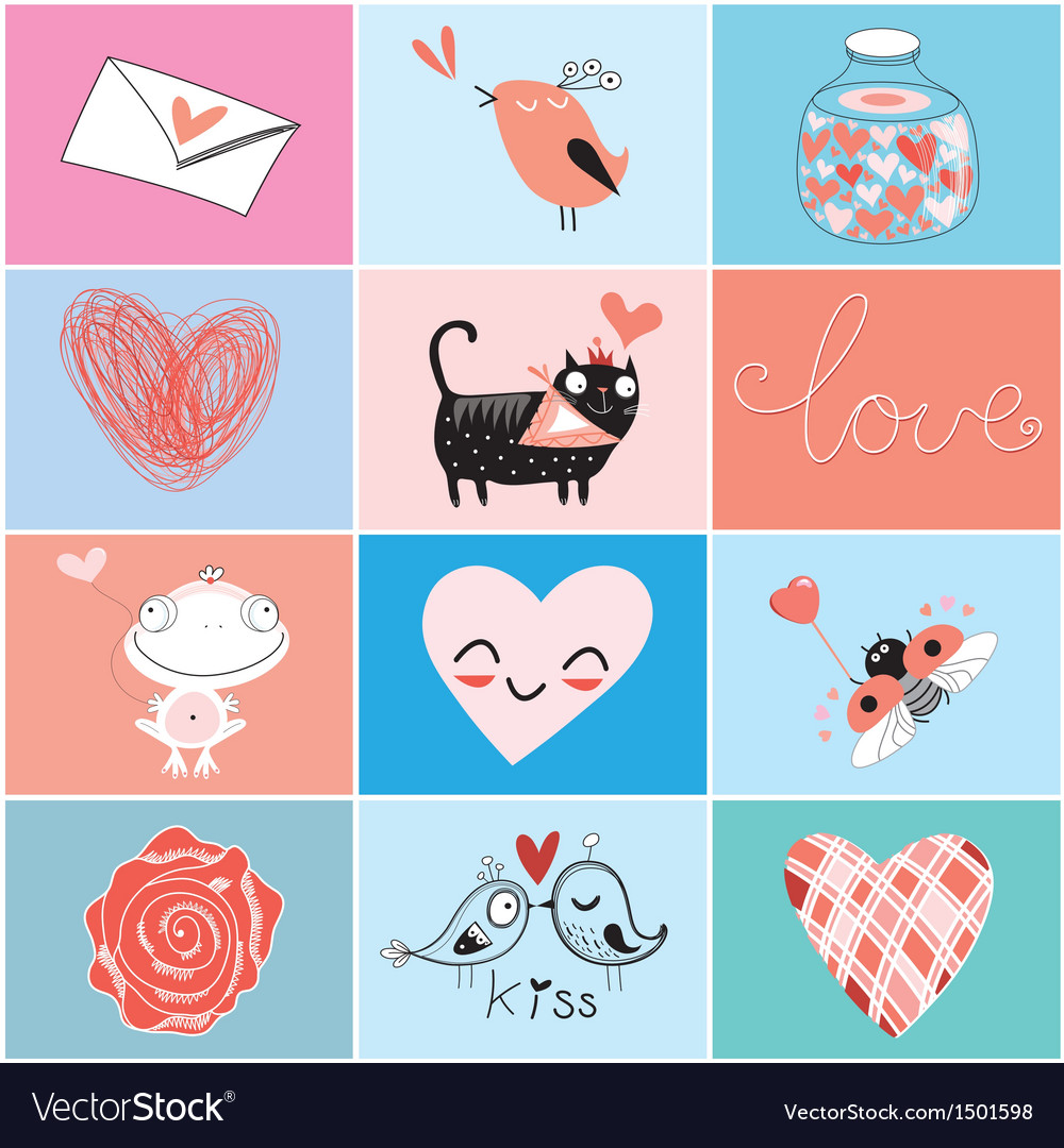 Images Valentines Day vector image