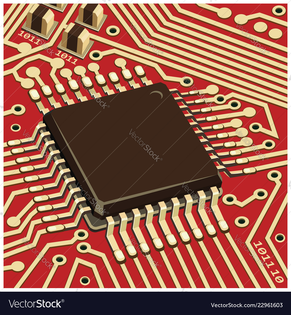 the computer chip
