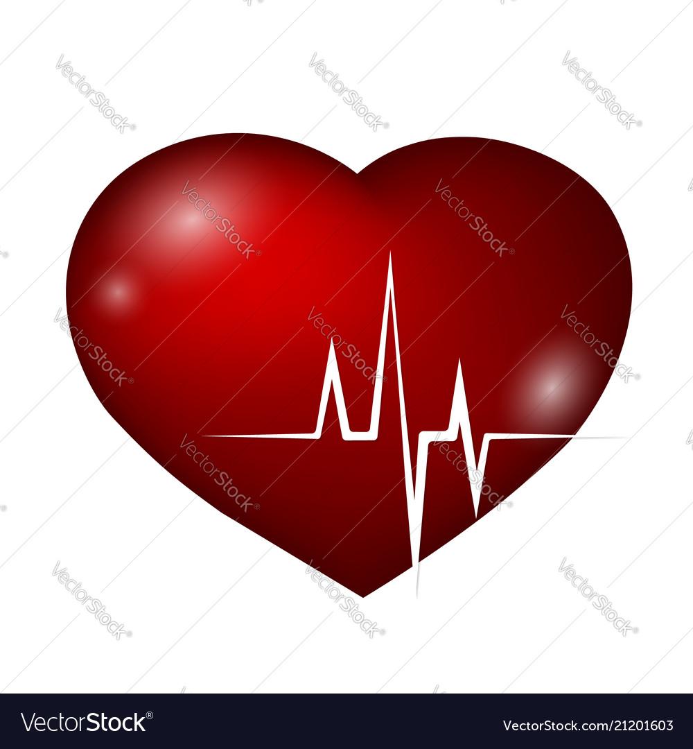 Heart and rhythm curve