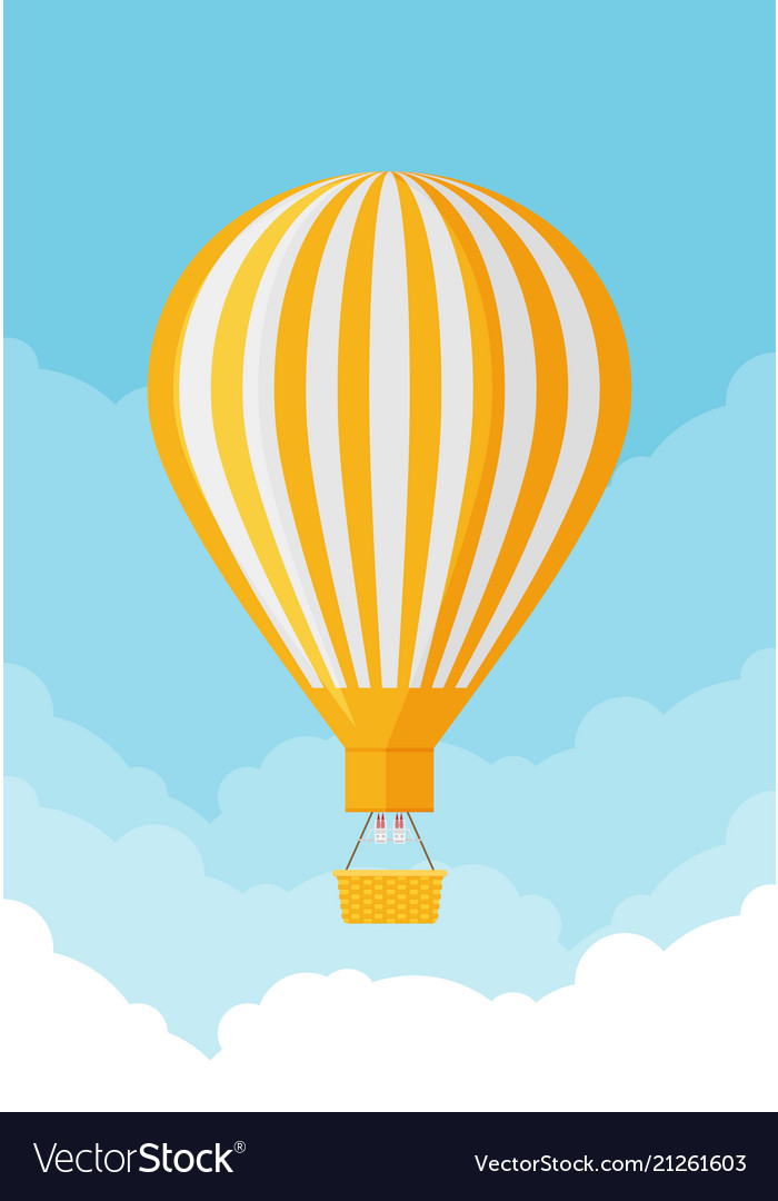 Hot air balloon planning summer vacations tourism