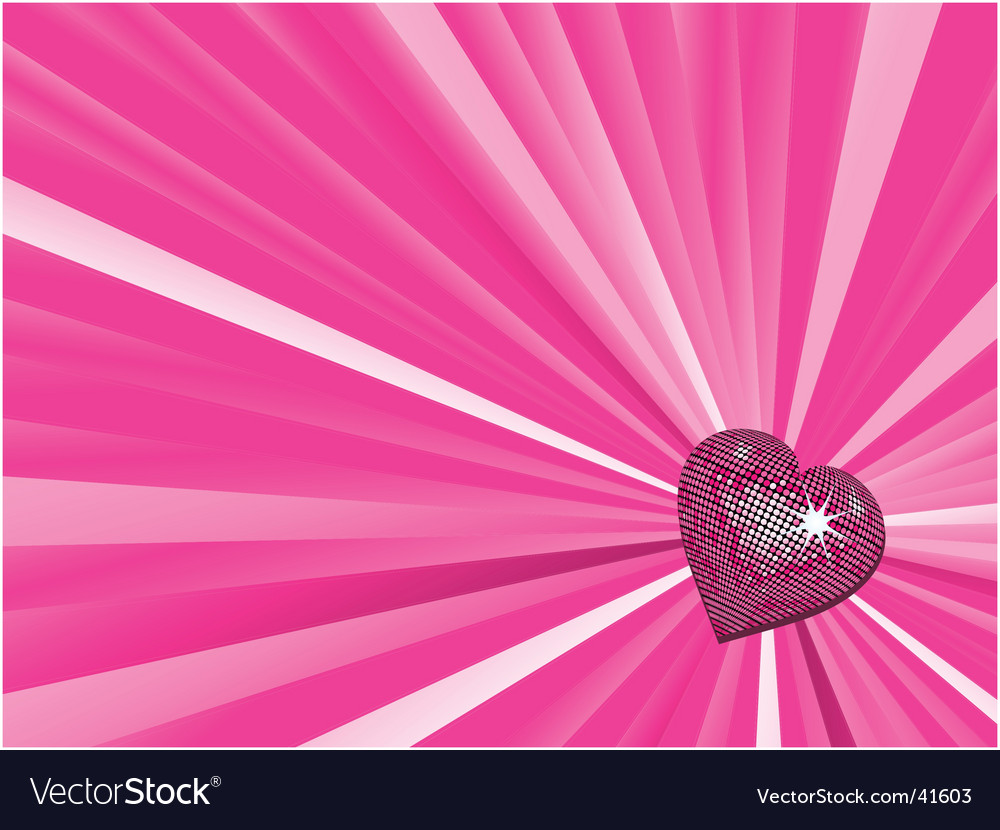 Valentine's heart background