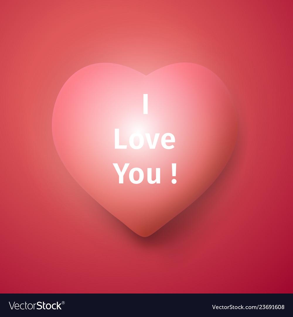 I love you banner