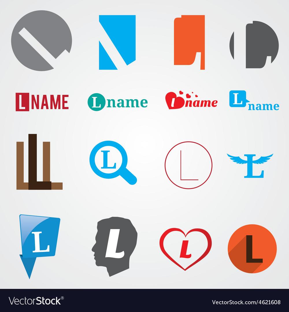 Set of alphabet symbols of letter L