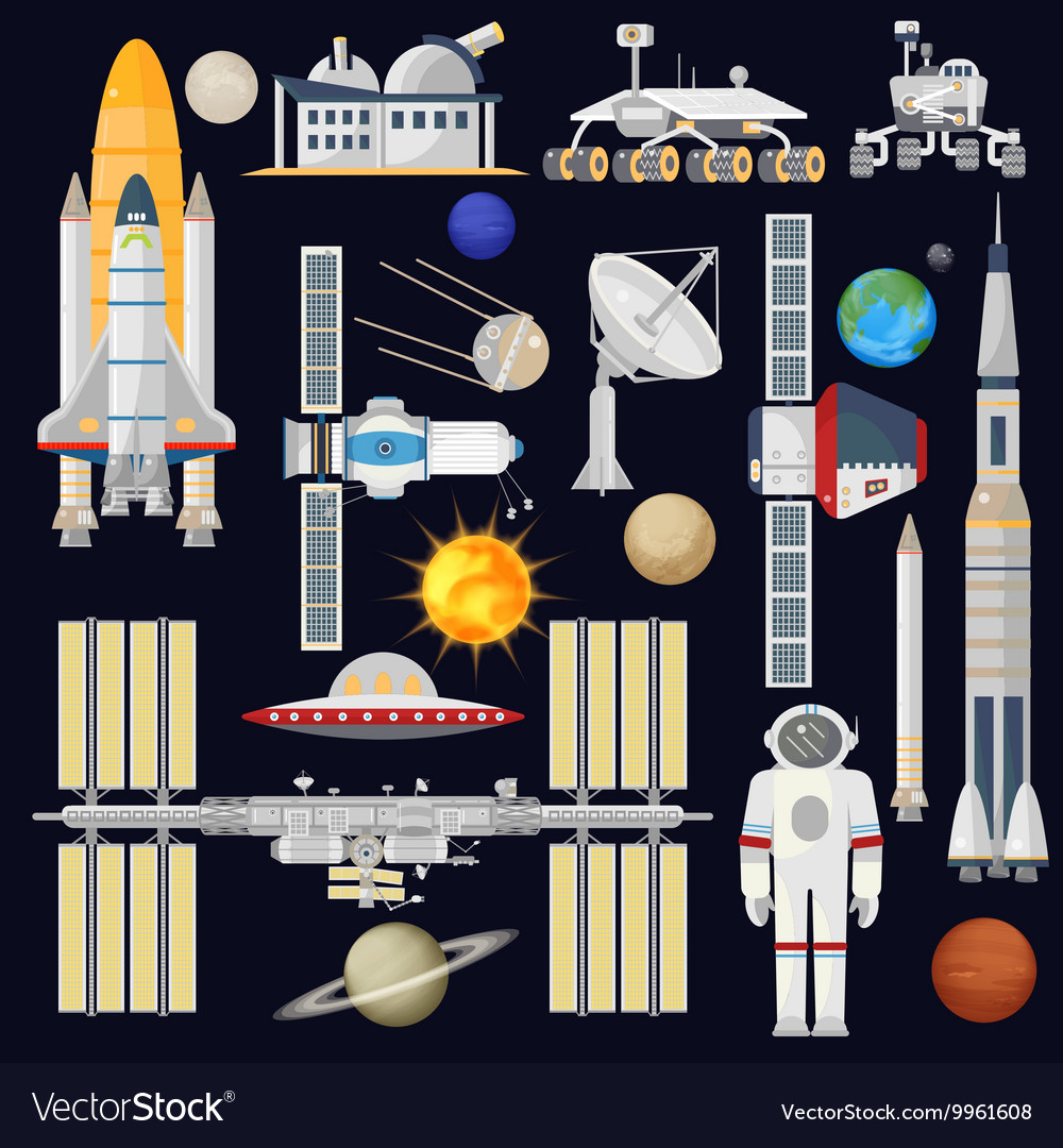 Spacecraft and space technology industry for