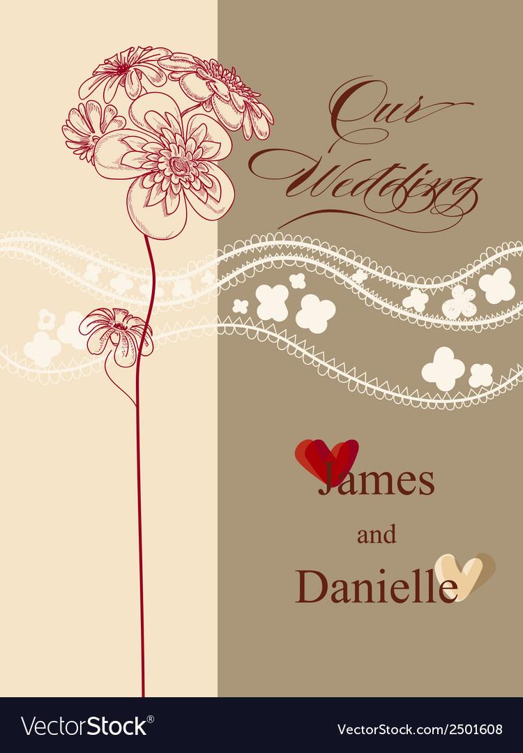Stylish Wedding Invitation Card File