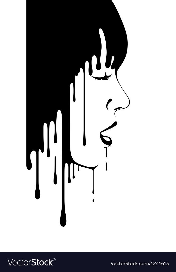 Face of girl