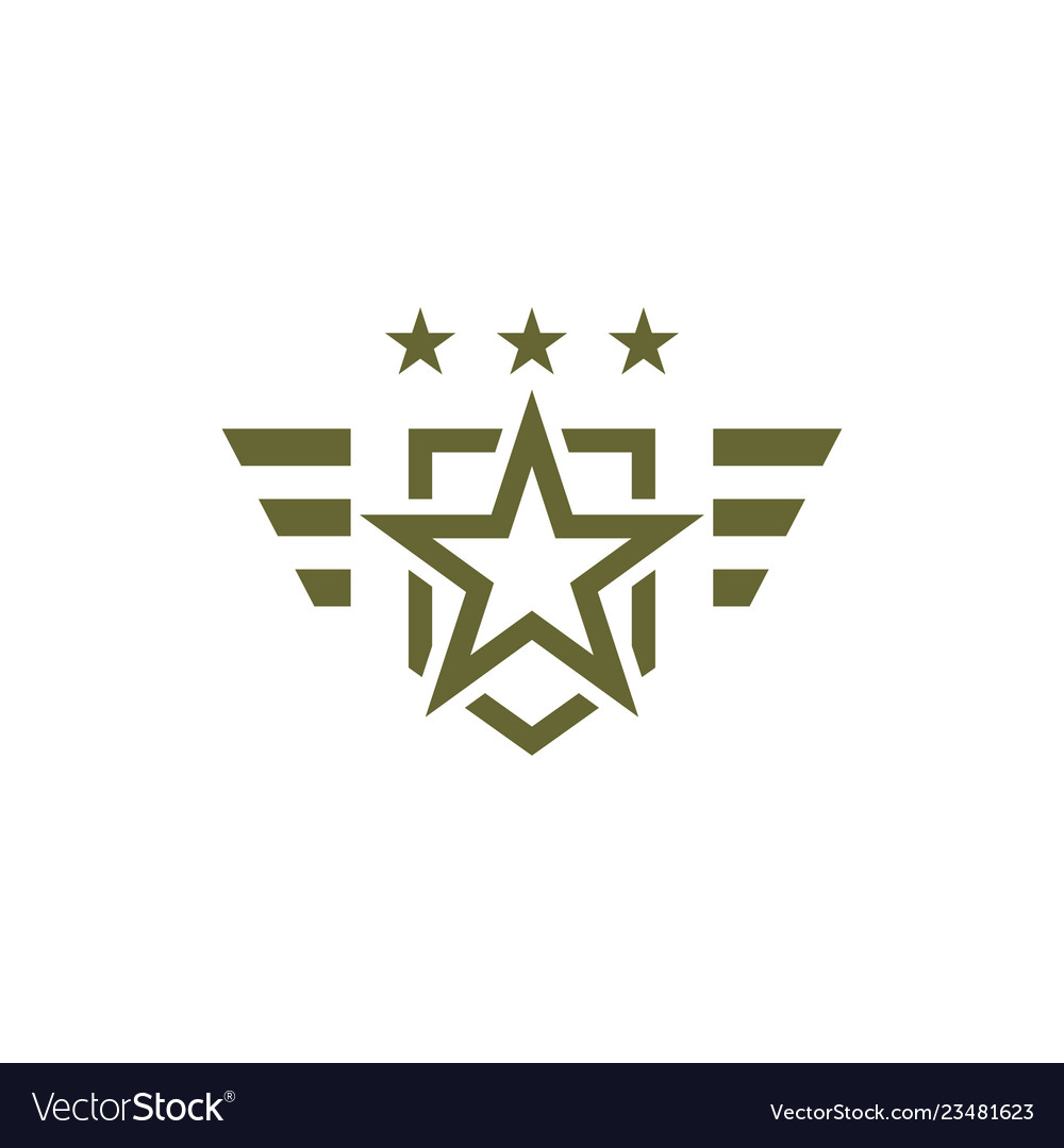 Military icon on white background armed symbol