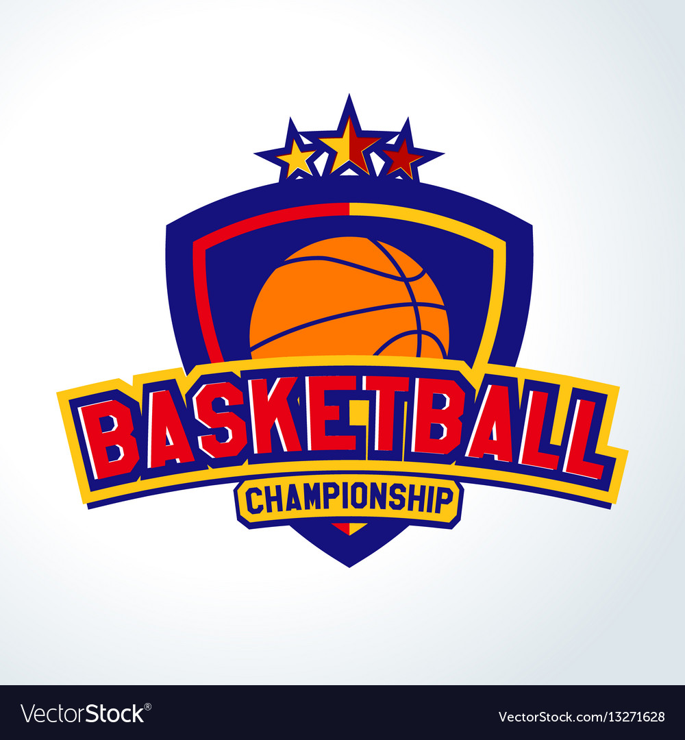 Basketball logotemplates of sport t-shirt