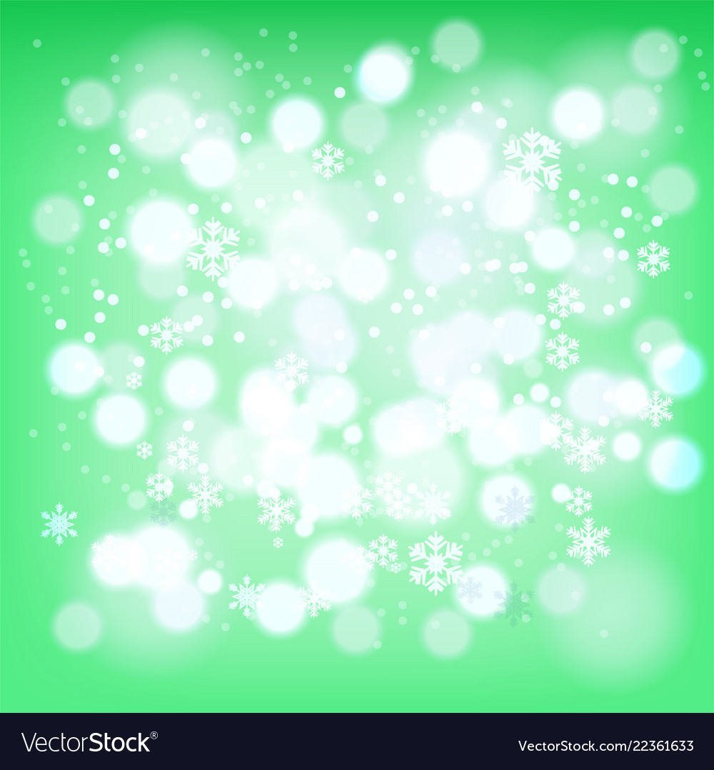 Abstract background winter red snowflakes