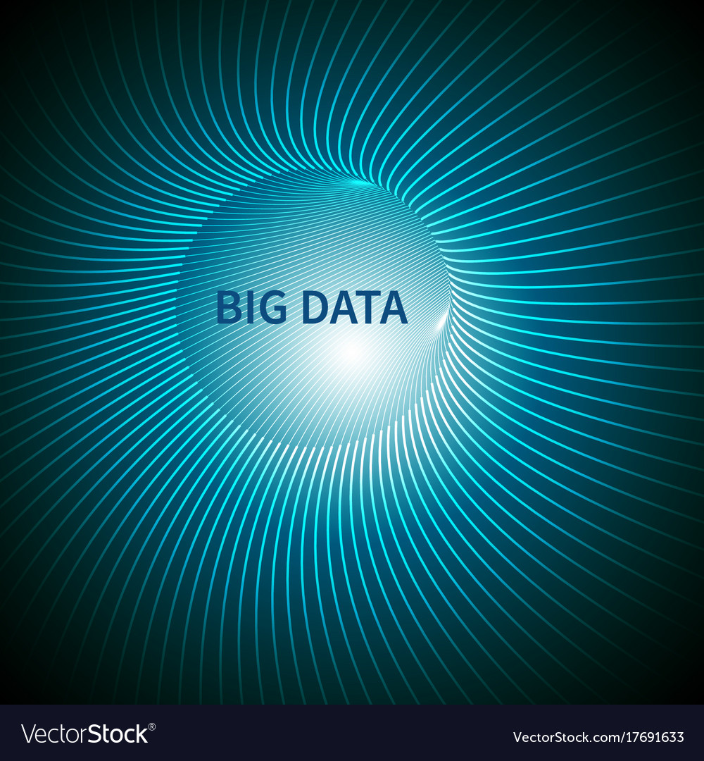 Big data abstract background