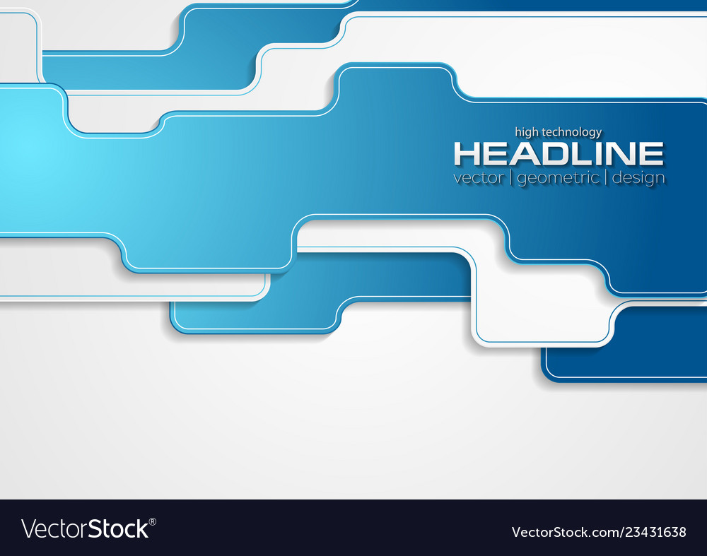 Blue grey abstract technology corporate background