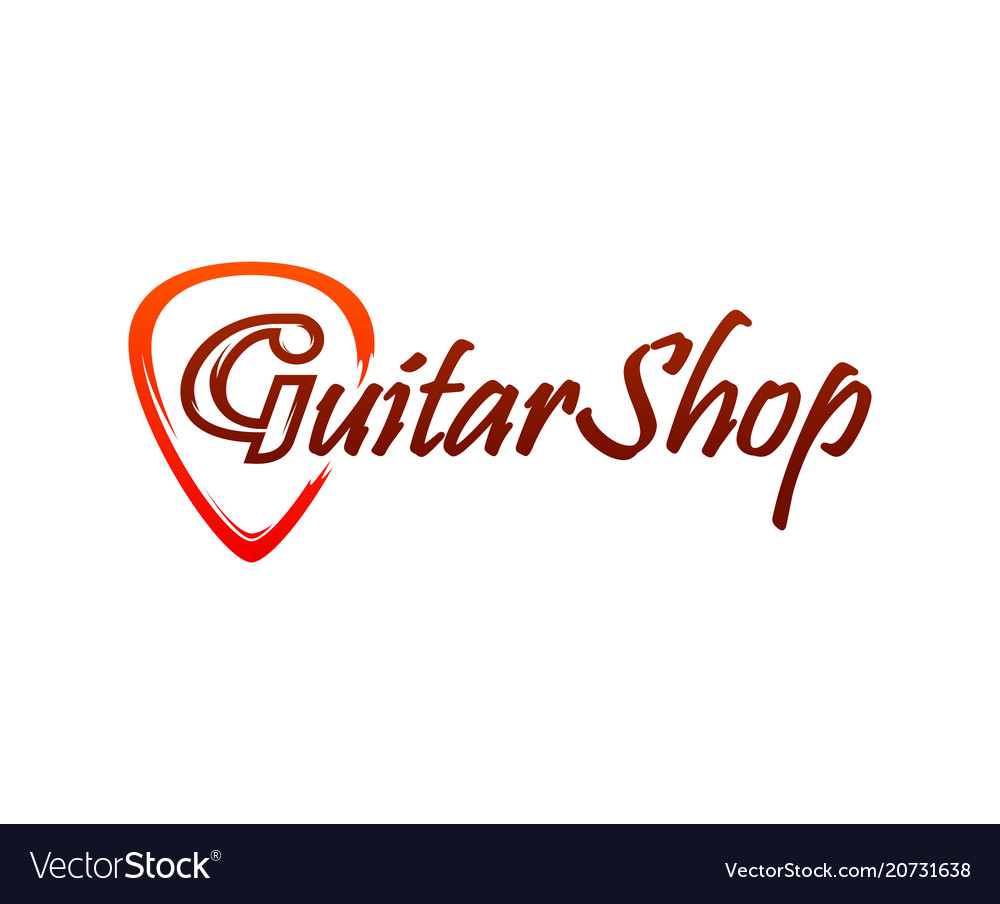 Logo for guitar shop