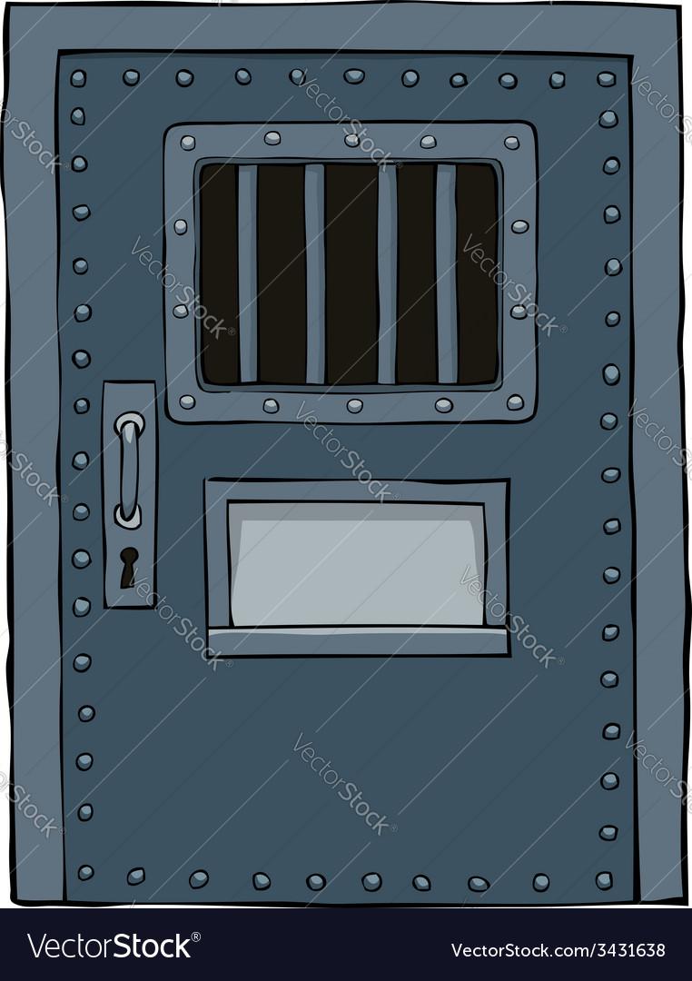 Prison door vector image & Prison door Royalty Free Vector Image - VectorStock